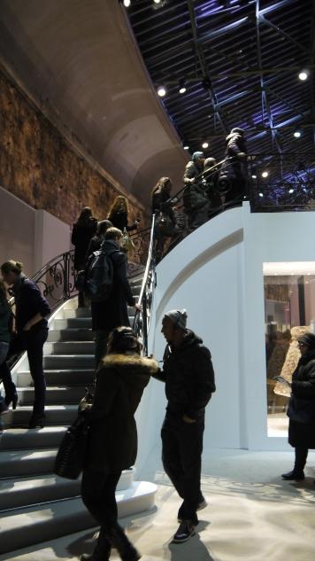L'escalier pour accéder au premier thème ©Monsieur Benedict