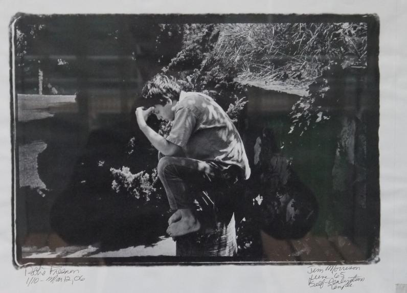 Photo de Jim Morisson par Robbie en 1965
