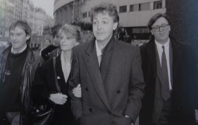 Paul et Linda Mc Cartney en 1992