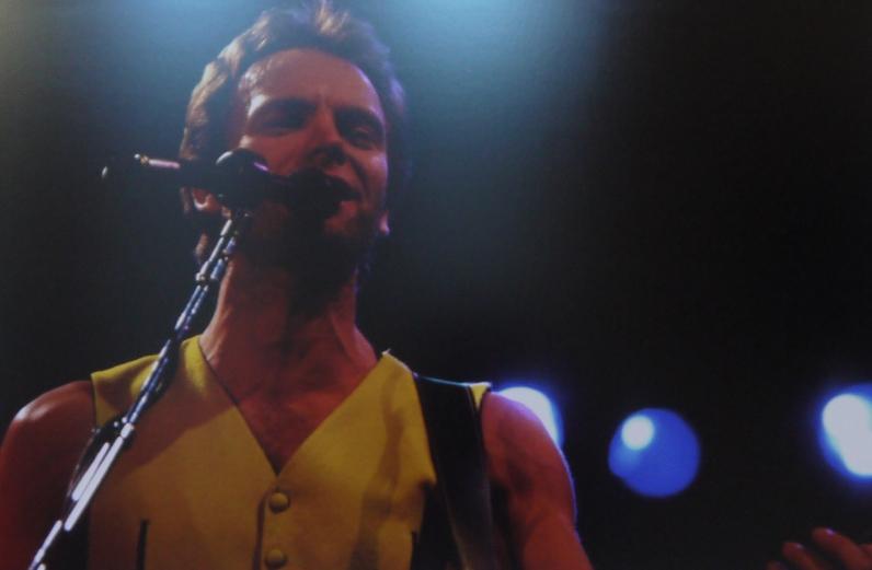 Sting au Zenith en 1991