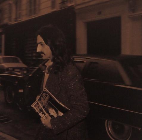 Frank Zappa à l'hôtel des Beaux Arts en 1980