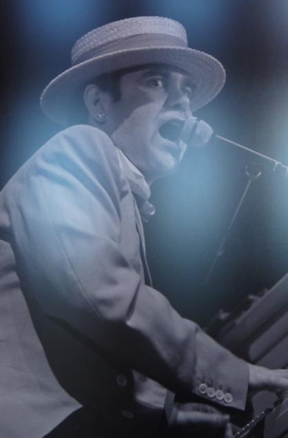 Elton Jones au Pavillon de Paris en 1983