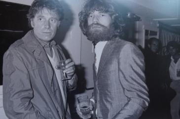 Mick Jagger avec Chris Blackweek au Palace en 1982
