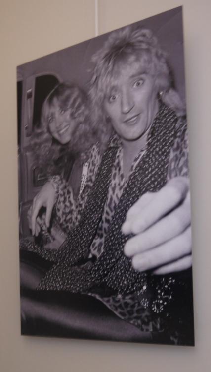 Rod Stewart à l'hôtel Ritz à Paris en 1982