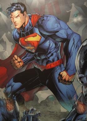 Couverture d'Action Comics( 2011) ©Monsieur Benedict