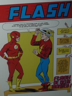 Case extraite de The Flash (1961) ©Monsieur Benedict