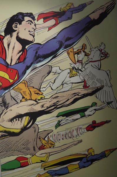 Extrait de la couverture de Superman (1972) ©Monsieur Benedict