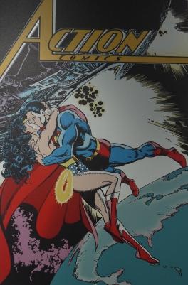 Couverture Action Comics (1988) ©Monsieur Benedict