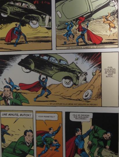 Extrait Action Comics (1938) ©Monsieur Benedict