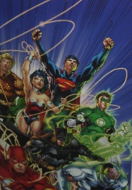 Couverture alternative de Justice league (2011) ©Monsieur Benedict