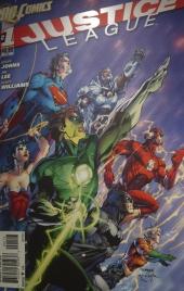 Couverture de Justice League (2011) ©Monsieur Benedict