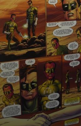 Page de Green Lantern ( 2007) ©Monsieur Benedict