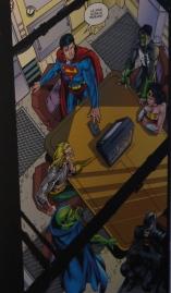 Page tirée de Justice League (2011) ©Monsieur Benedict