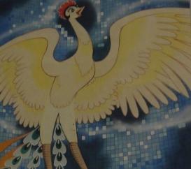 Illustration originale Phenix © Tezuka Productions