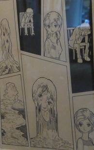 Planche originale Human Metamorphosis © Tezuka Productions