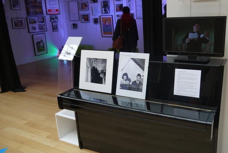 Le piano de l'exposition ©Monsieur Benedict