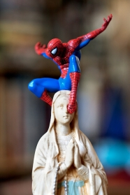 """La série """"Spidermadone & Co © Clarisse Rebotier"""