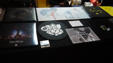 "Le stand "" Cracki Records"" ©MonsieurBenedict"