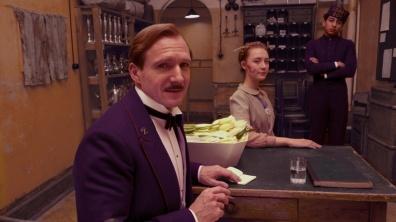 Ralph Fiennes et Saoirse Ronan