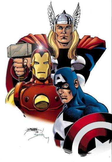 Avengers par George Perez