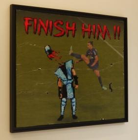 Finish Him par Combo ©Monsieur Benedict