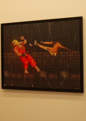 Flying kick par Combo ©Monsieur Benedict