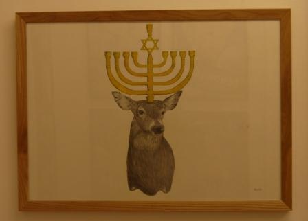 Jewish Deer par Combo ©Monsieur Benedict