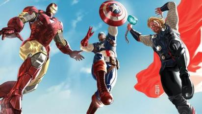 Avengers par Alex Ross