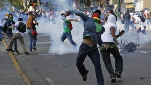 Des manifestants vénézueliens en 2014