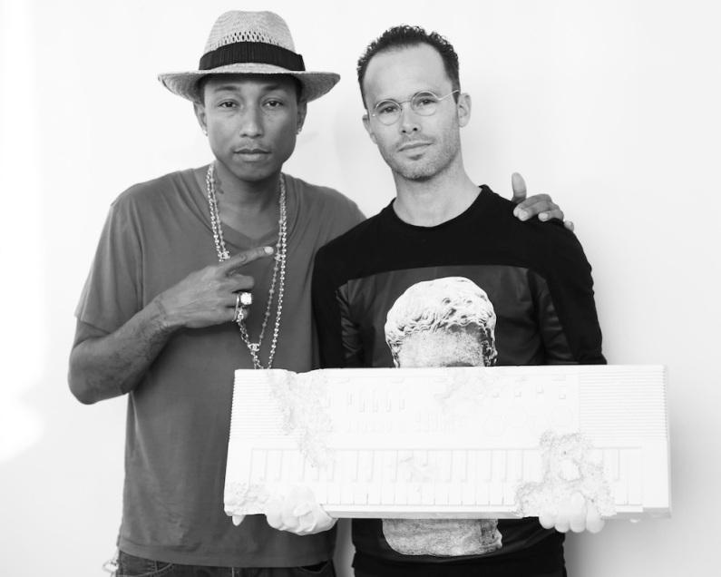 Collaboration avec Pharrell Williams