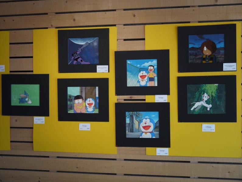 Doraemon et Kitaro le Repoussant ( en haut à droite) ©Monsieur Benedict