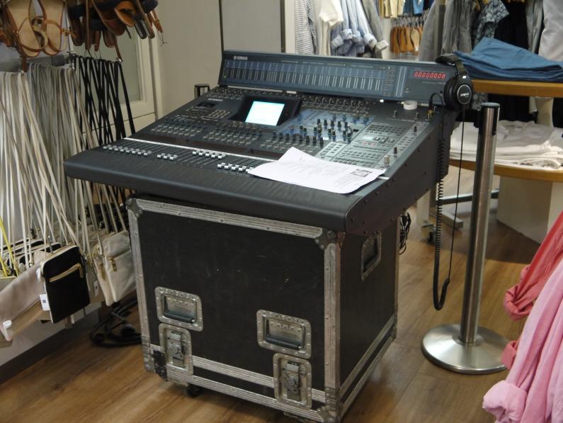 La console de son du concert ©Monsieur Benedict