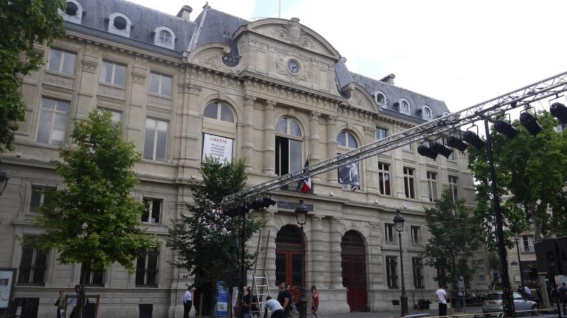 Entrée de la Mairie du IVème arrondissement ©Monsieur Benedict