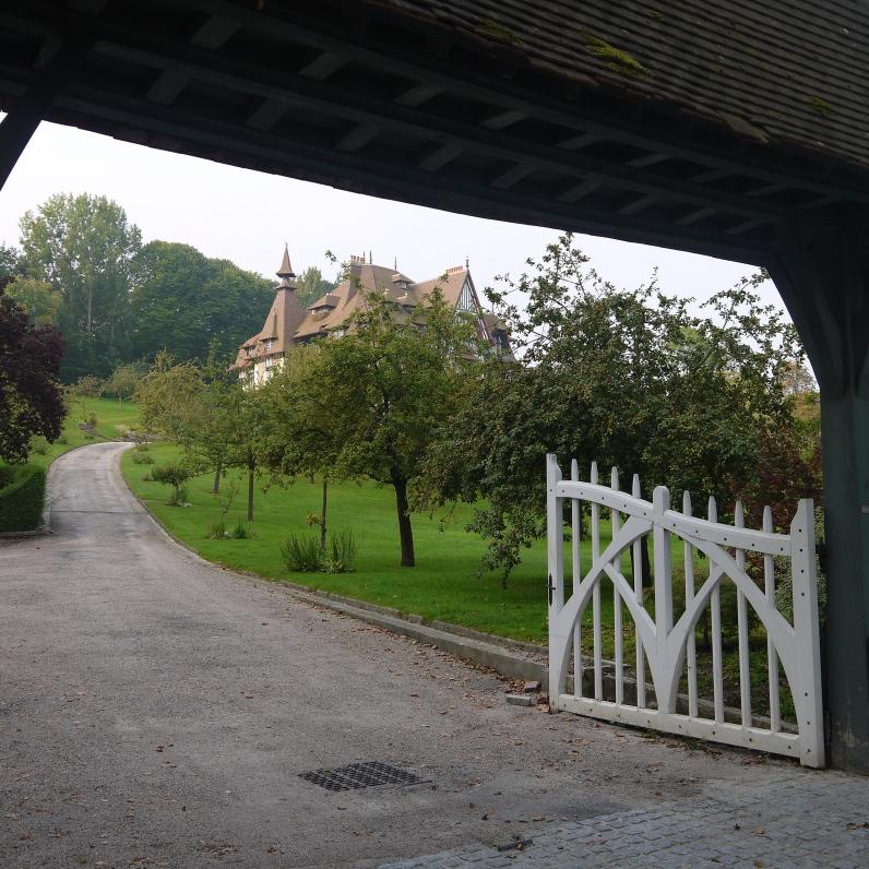 Entrée de la Villa Strassburger ©Monsieur Benedict