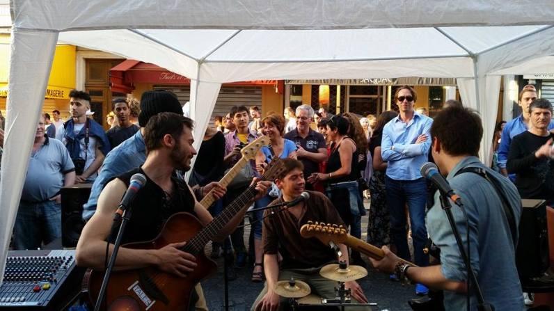 Le groupe Tales à la Fête de la Musique 2014 ©Tales