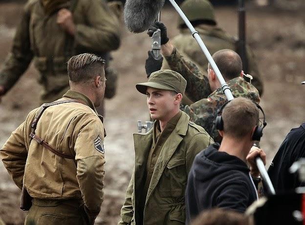 Brad Pitt et Logan Leman