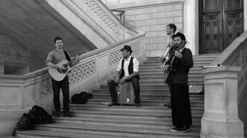 Le groupe Tales au Conservatoire National de Arts et Métiers ©Monsieur Bénédict