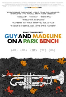 """Affiche """" Guy And Madeline On a Park Bench"""""""