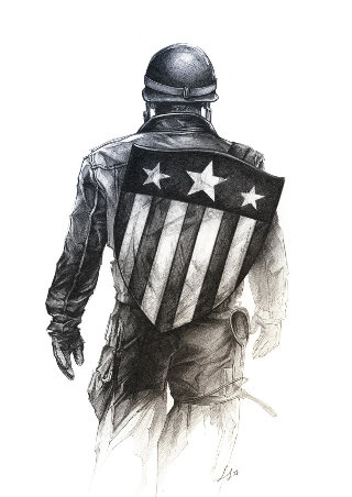 Captain America ©Luckystar