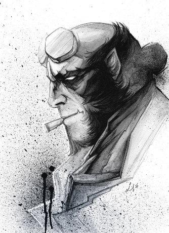 Hellboy par © Luckystar