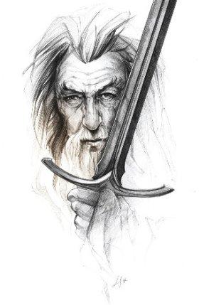 Gandalf par ©Luckystar
