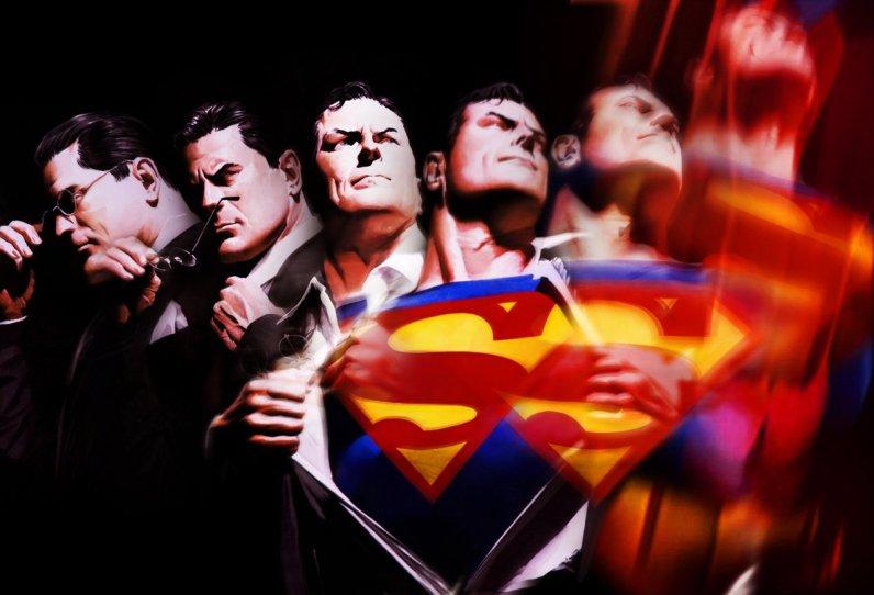 """""""Superman """" par Alex Ross"""