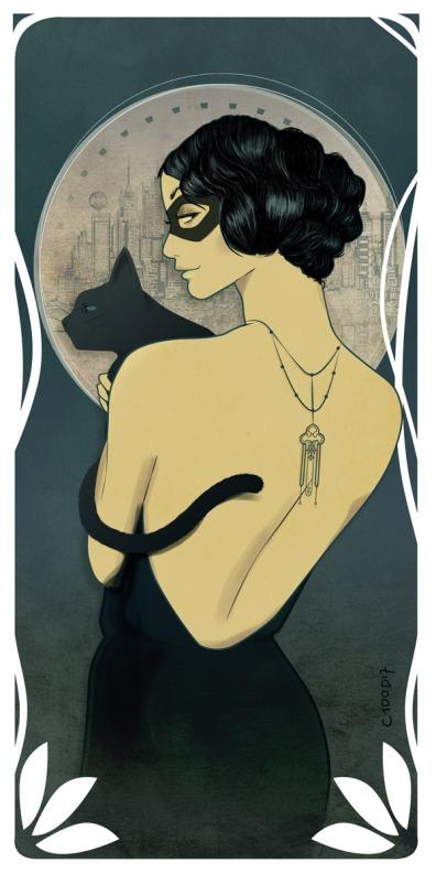 Catwoman par © C100D17