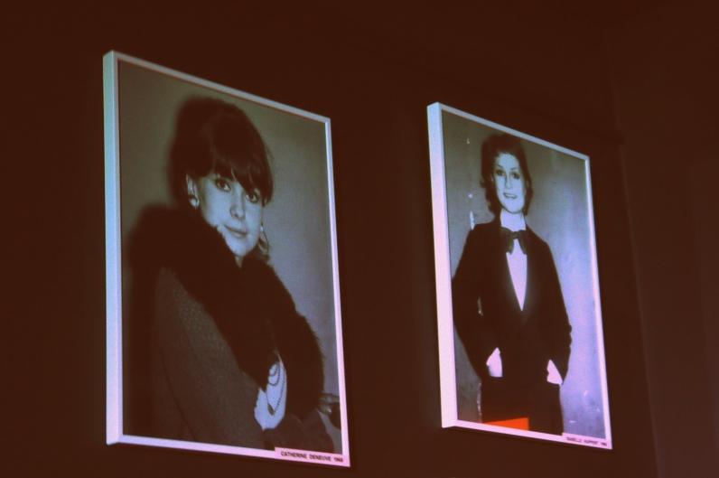 (à gauche) Catherine Deneuve par Marcel Thomas