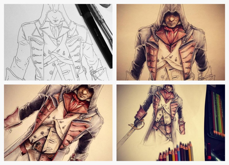Assassin Creed par © Art Of Supershinobi