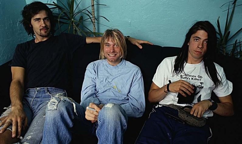 Krist Novoselic, Kurt Cobain et Dave Grohl