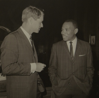 Robert Kennedy et James Merith
