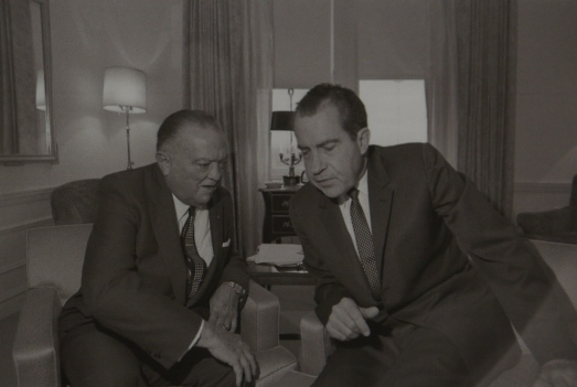 Hoover et Richard Nixon