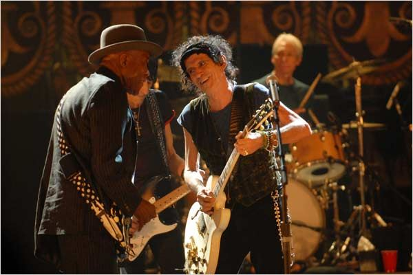 Buddy Guy et Keith Richards