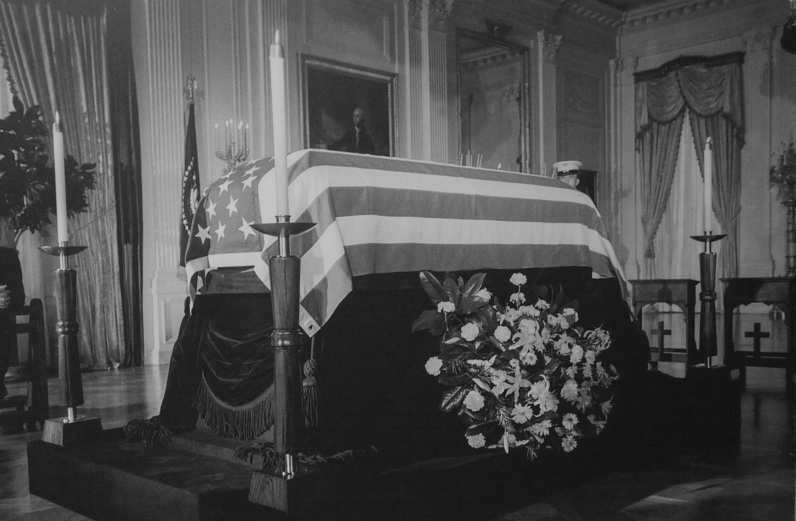 Cercueil de JFK